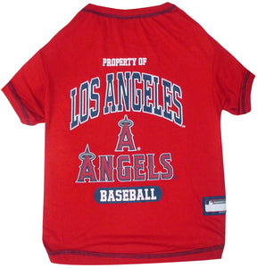 Los Angeles Angels Pet Tee Shirt - Yip & Purr® Official Website