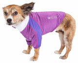Pet Life ?? Active 'Chewitt Wagassy' 4-Way Stretch Performance Long Sleeve Dog T-Shirt - Yip & Purr?? Official Website