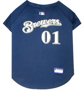Milwaukee Brewers Pet Jersey - Yip & Purr® Official Website