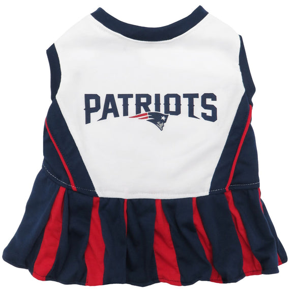 New England Patriots Cheerleader Pet Dress