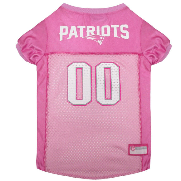 New England Patriots Pet Jersey - Pink