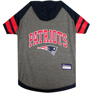 New England Patriots Hoody Tee Shirt