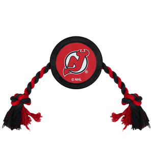 New Jersey Devils Hockey Puck Toy - Yip & Purr® Official Website