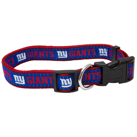 New York Giants Dog Collar - Ribbon - Yip & Purr® Official Website