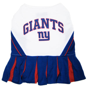 New York Giants Cheerleader Pet Dress - Yip & Purr® Official Website