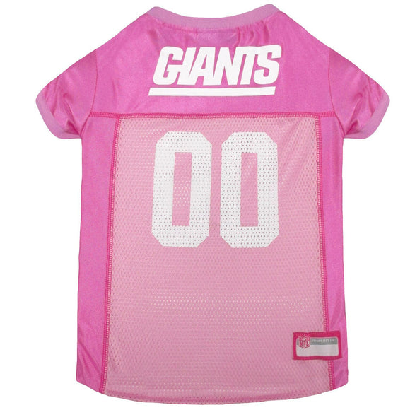 New York Giants Pet Jersey - Pink - Yip & Purr® Official Website