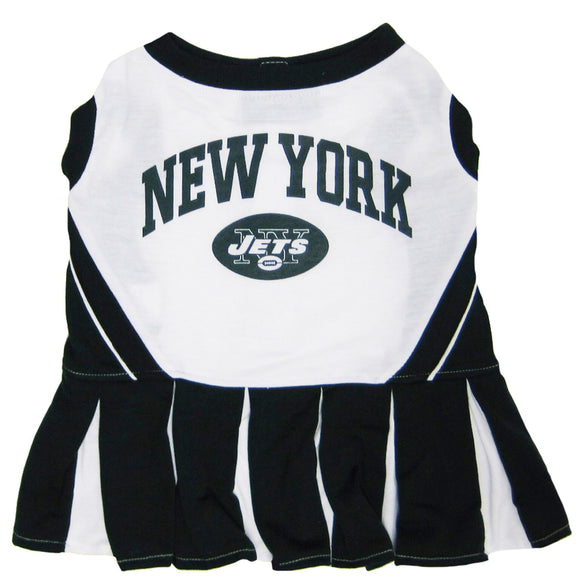 New York Jets Cheerleader Pet Dress - Yip & Purr® Official Website