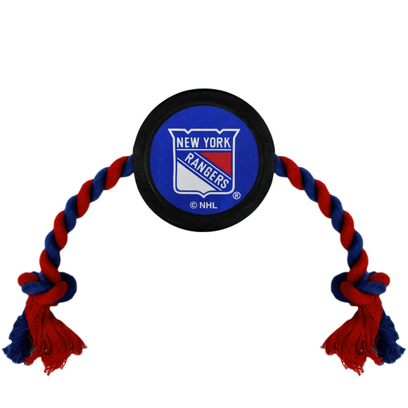 New York Rangers Hockey Puck Toy - Yip & Purr® Official Website