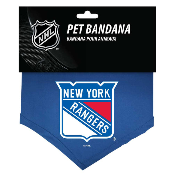 New York Ranges Reversible Bandana - Yip & Purr® Official Website
