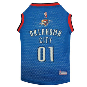 Oklahoma City Thunder Pet Jersey - Yip & Purr® Official Website