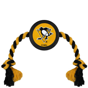 Pittsburgh Penguins Hockey Puck Toy - Yip & Purr® Official Website