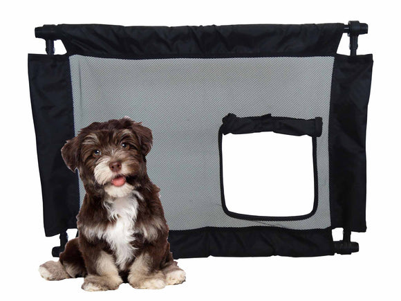 Pet Life Porta-Gate Travel Collapsible And Adjustable Folding Pet Cat Dog Gate