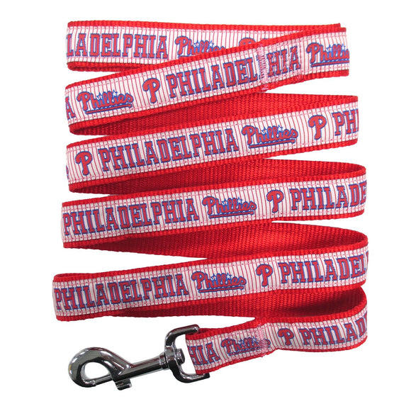 Philadelphia Phillies Leash- Ribbon - Yip & Purr® Official Website