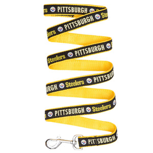 Pittsburgh Steelers Dog Leash - Ribbon - Yip & Purr® Official Website