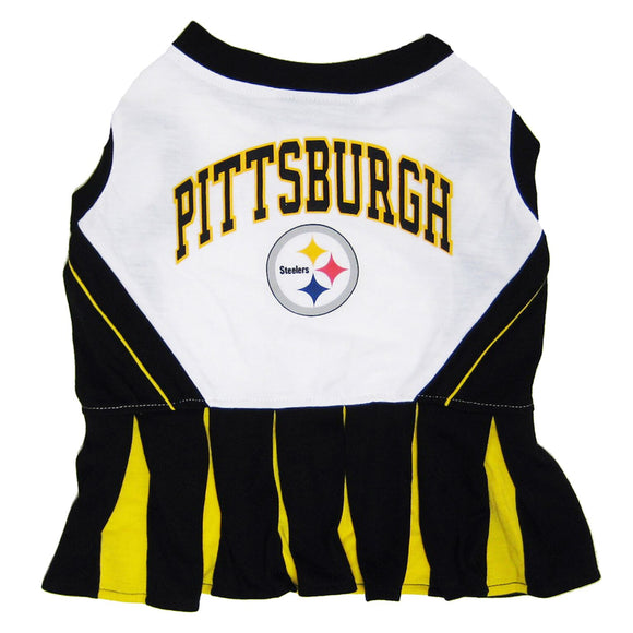 Pittsburgh Steelers Cheerleader Pet Dress - Yip & Purr® Official Website
