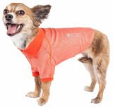 Pet Life ?? Active 'Fur-Flexed' Relax-Stretch Wick-Proof Performance Dog Polo T-Shirt - Yip & Purr?? Official Website
