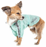Dog Helios ® 'Torrential Shield' Waterproof Multi-Adjustable Pet Dog Windbreaker Raincoat