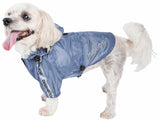 Dog Helios ?? 'Torrential Shield' Waterproof Multi-Adjustable Pet Dog Windbreaker Raincoat - Yip & Purr?? Official Website