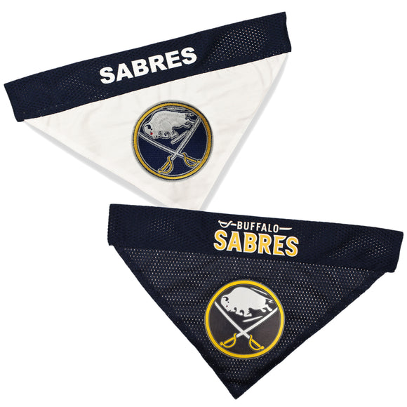 Buffalo Sabres Reversible Bandana - Yip & Purr® Official Website