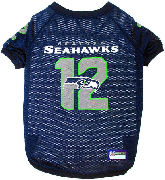 Seattle Seahawks Pet Jersey - 12th Man - Yip & Purr® Official Website
