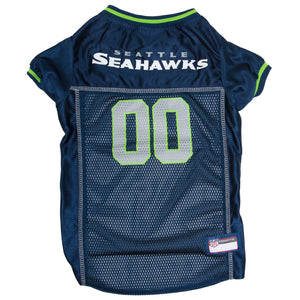 Seattle Seahawks Pet Jersey - Green Trim - Yip & Purr® Official Website