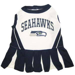 Seattle Seahawks Cheerleader Pet Dress - Yip & Purr® Official Website