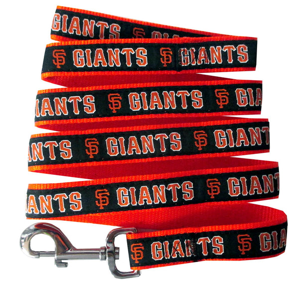 San Francisco Giants Leash- Ribbon - Yip & Purr® Official Website