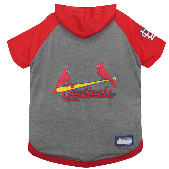 St. Louis Cardinals Pet Hoody Tee Shirt - Yip & Purr® Official Website