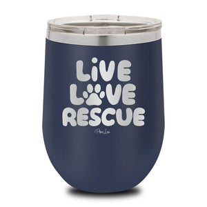 Live Love Rescue Wine Cup - Yip & Purr® Official Website