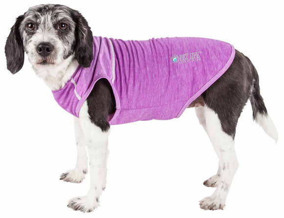 Pet Life ?? Active 'Aero-Pawlse' Heathered Quick-Dry And 4-Way Stretch-Performance Dog Tank Top T-Shirt - Yip & Purr?? Official Website