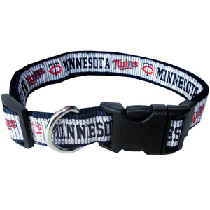 Minnesota Twins Collar- Ribbon - Yip & Purr® Official Website