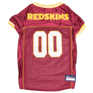 separation shoes 67d89 4d300 Washington Redskins Pet Jersey - Yellow Trim