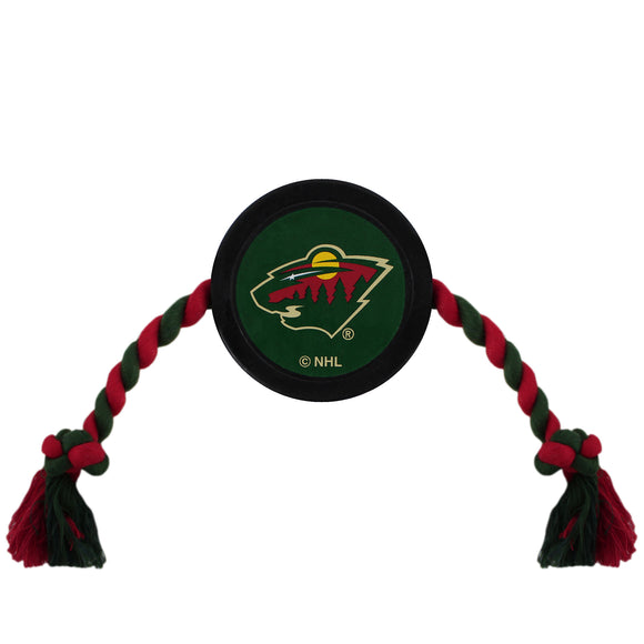 Minnesota Wild Hockey Puck Toy - Yip & Purr® Official Website