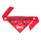 Nebraska Pet Bandana- Tie On - Yip & Purr® Official Website