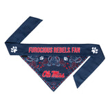 Ole Miss Pet Bandana- Tie On - Yip & Purr® Official Website