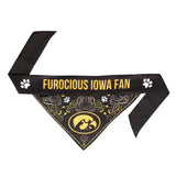 Iowa Hawkeyes Pet Bandana- Tie On