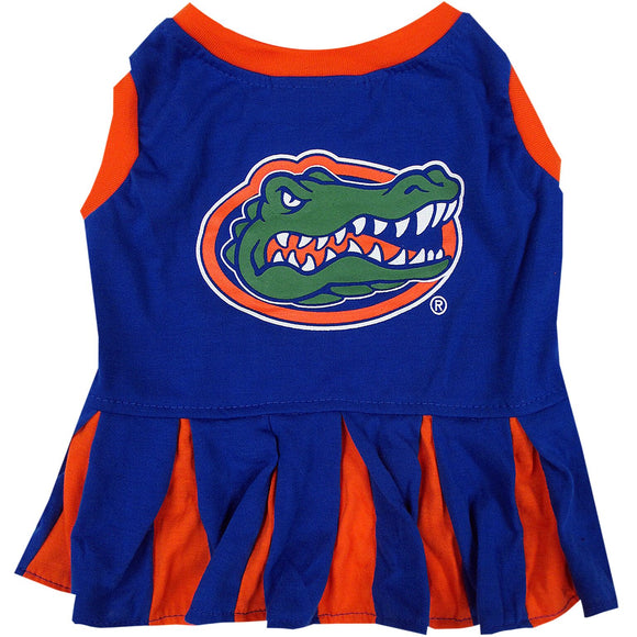 Florida Gators Cheerleader Pet Dress - Yip & Purr® Official Website