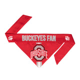 Ohio State Pet Bandana- Tie On - Yip & Purr® Official Website