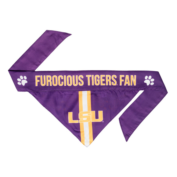 LSU Pet Bandana- Tie On - Yip & Purr® Official Website