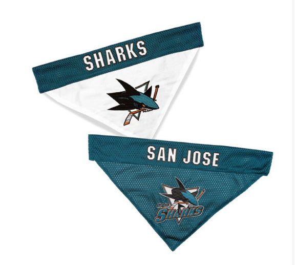 San Jose Sharks Reversible Bandana