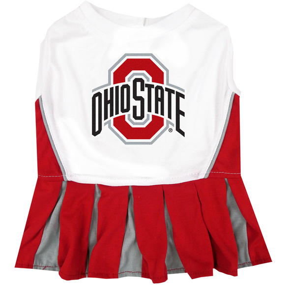 Ohio State Cheerleader Pet Dress - Yip & Purr® Official Website