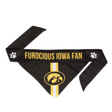 Iowa Hawkeyes Pet Bandana- Tie On - Yip & Purr® Official Website