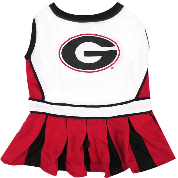 Georgia BullPets Cheerleader Pet Dress - Yip & Purr® Official Website