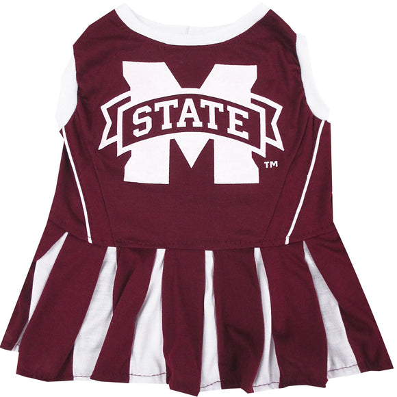 Mississippi State Cheerleader Pet Dress - Yip & Purr® Official Website