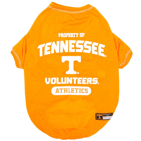 Tennessee Volunteers Pet Tee Shirt - Yip & Purr® Official Website