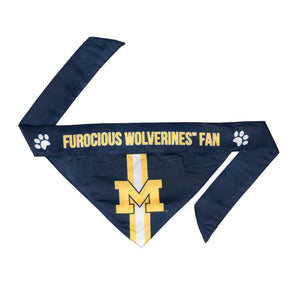 Michigan Wolverines Pet Bandana- Tie On - Yip & Purr® Official Website