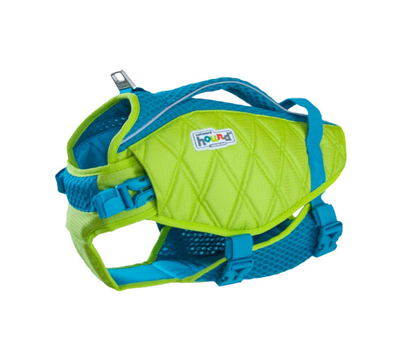 Outward Hound Standley Sport Life Jacket for Dogs - Green/Blue - Yip & Purr® Official Website
