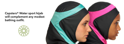 Capsters Swim Hijabs - Available at SportHijab.co