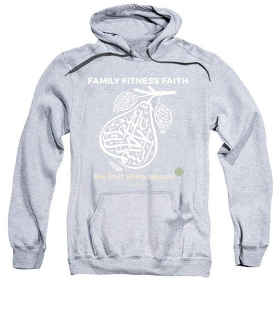 Family Fitness Faith Long Sleeve Modest Hoodie Sweatshirt - sporthijab.co