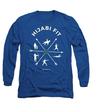 Hijabi Fit Modest Workout Long Sleeve T-Shirt - sporthijab.co
